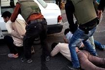 هفت سارق مسلح در خوزستان دستگیر شدند