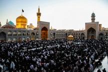 سوگواری سالروز رحلت حضرت ام البنین (س) در حرم مطهر رضوی