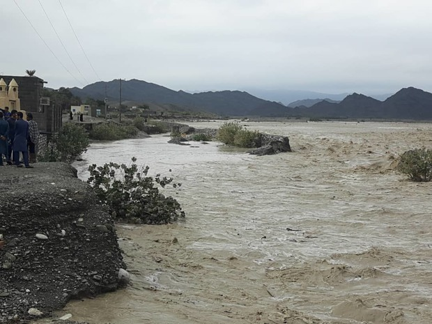 211 روستای نیکشهر در محاصر سیلاب قرار دارند