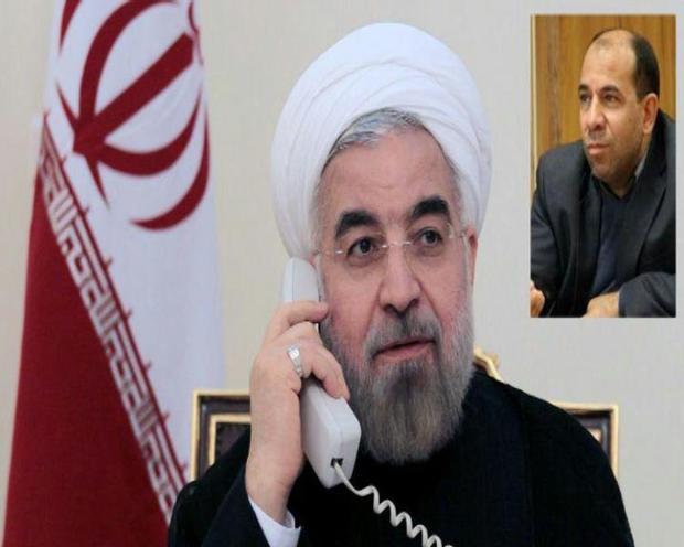 رئیس جمهوری از مدیریت استاندار خراسان شمالی در بحران اخیر قدردانی کرد