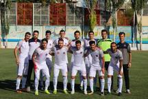 تساوی خارج از خانه شهرداری در لیگ دسته یک فوتبال