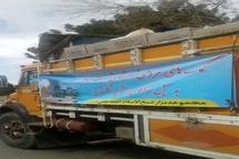 ارسال کمکهای مردمی تربت جام به مناطق سیلزده استان گلستان