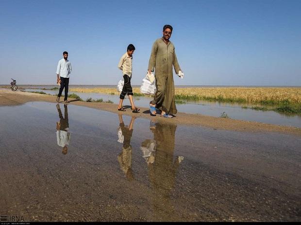 سیلاب هشت روستای بخش مرکزی دشت آزادگان رامحاصره کرد
