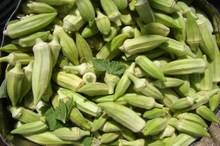 140 تن بامیه مهران به بازار می آید