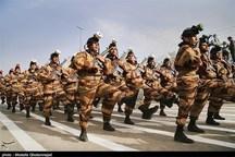 مراسم روز ارتش در مازندران برگزار شد