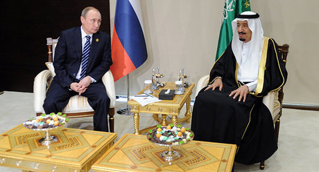 تماس تلفنی پوتین با پادشاه عربستان درباره بحران قطر