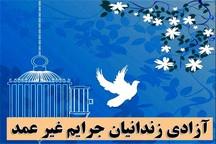 13 زندانی بدهکار مالی از زندان منوجان آزاد شدند