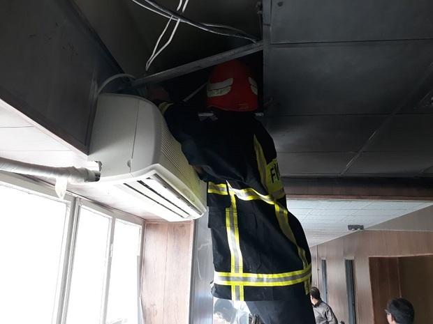 آتش سوزی در شورای شهر بجنورد مهار شد
