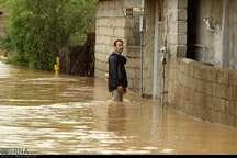 سیلاب به تاسیسات گاز در 26 نقطه گیلان آسیب وارد کرد