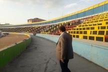 عزم مسئولان برای آماده سازی ورزشگاه وطنی قائمشهر