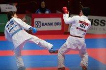 صعود رزیتا علیپور به فینال کاراته/ طلسم طلای روز هشتم می شکند؟