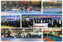 گلستان قهرمان گروه ب مسابقات کشتی آزاد بزرگسالان کشور شد
