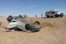 واژگونی پراید در جاده نهبندان سه مجروح برجا گذاشت