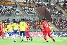 حاشیههای دیدار تیمهای فولاد خوزستان و نفت آبادان