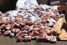 ۱۲۶۰ کیلوگرم گوشت غیرقابل مصرف در مهاباد کشف شد