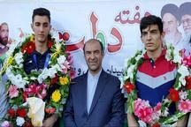 استقبال از بازیکن تیم ملی والیبال نوجوانان در قوچان