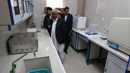نخستین آزمایشگاه کنترل کیفیت موادغذایی جنوب سیستان وبلوچستان افتتاح شد