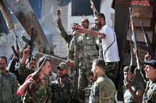ورود نیروهای امنیتی سوریه به مناطق حجر الاسود و الیرموک/ سرنگونی یک پهپاد ناشناس توسط ارتش روسیه