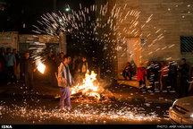 آمار مصدومین چهارشنبه سوری تا ساعت 21 به 18 نفر رسید
