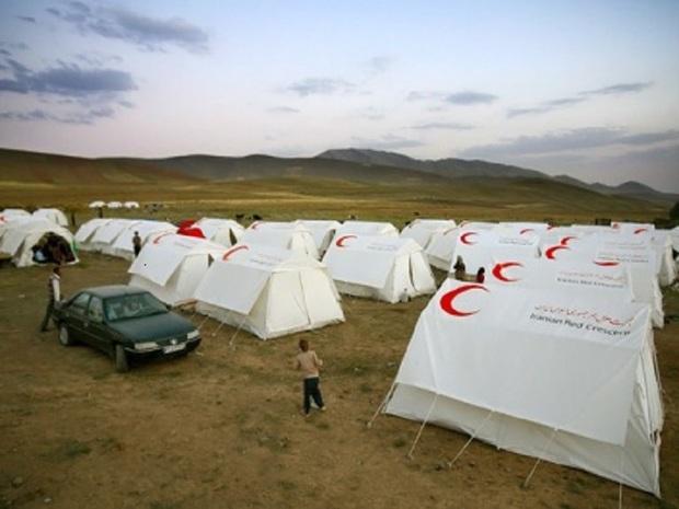 اسکان اضطراری ساکنان 2 روستای سرخس انجام شد