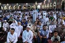 حضور 2.5 میلیون زائر غیر ایرانی در حرم مطهر رضوی در سال 95