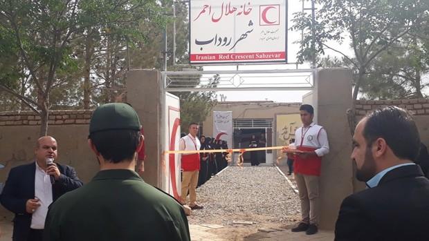 96 خانه هلال روستایی در خراسان رضوی فعالند