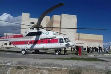 اورژانس هوایی سبزوار 212 مصدوم را منتقل کرده است