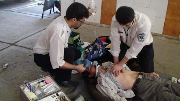 بیمار 68 ساله اردلی از مرگ نجات یافت