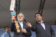 نواخته شدن زنگ مهر و مقاومت با حضور معاون رئیس جمهوری در رشت