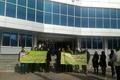 تجمع اعتراضی مهندسان شرکت ایمن تقاطع در شورای شهر کرج