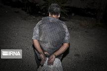 سارق واحدهای مسکونی در گچساران دستگیر شد