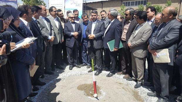 عملیات اجرایی ساخت کتابخانه مرکزی دانشگاه علوم پزشکی همدان آغاز شد