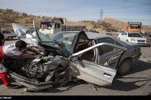تصادفات خراسان شمالی یک کشته و 23 مجروح داشت