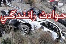 سه کشته و یک مجروح در تصادف رانندگی در ثلاث باباجانی