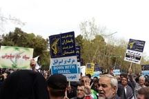 نمازگزاران تبریزی از سپاه اعلام حمایت کردند
