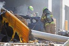 تصادف هواپیما با مرکز خریدی در استرالیا ۵ کشته بر جا گذاشت