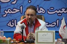 هلال احمر زنجان به روستاهای آسیب دیده سیل امداد رسانی کرد