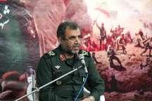 سپاه از دستاوردهای انقلاب اسلامی در همه عرصه ها حراست می کند