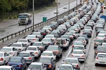 آزادراه های زنجان ترافیک سنگینی در روزهای آخر تعطیلات دارند