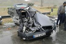 تصادف در باشت سه مصدوم و یک کشته برجا گذاشت