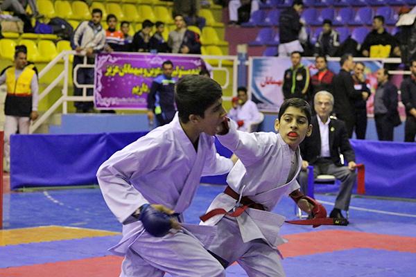 مسابقات کاراته المپیاد استعدادهای برتر کشور با معرفینفرات برتر به پایان رسید