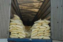 296 تن برنج قاچاق در میرجاوه کشف شد