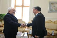 دیدارهای امروز ظریف در وزارت خارجه