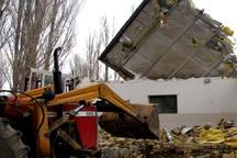 153فقره ساخت و ساز غیر قانونی در اراضی ملی مشهد تخریب شد