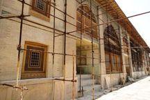 اجرای چهارمین مرحله مرمت عمارت دیوانخانه دوره زندیه در شیراز