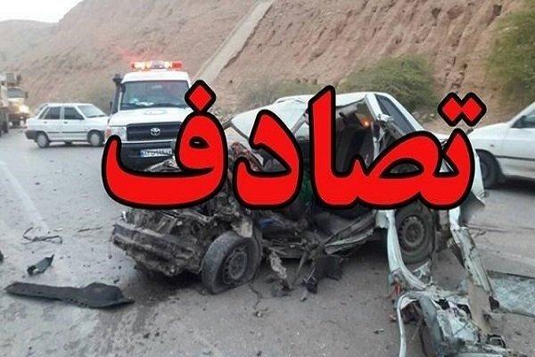 5 کشته و زخمی بر اثر واژگونی خودروی سواری در تربتحیدریه
