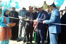 افتتاح مسکن محرومین و پنجمین دوره بازارچه کسب و کار دانش آموزی در جویبار
