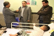 پیگیری درمان عرفان ۹ساله توسط استانداری آذربایجانغربی