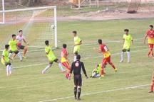 مرحله پایانی مسابقات فوتبال مناطق کشور در تاکستان پیگیری شد