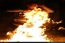 138 نفر مصدوم و یک نفر فوتی در حوادث چهارشنبه سوری اردبیل